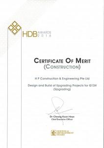 HDB Construction Awards 2016