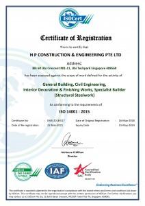 ISO 14001 Certificate v2
